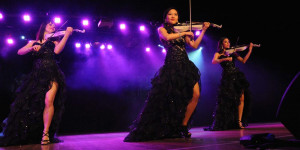 String Diva settle the score for Rugby League event