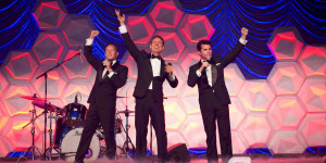Rat Pack Reloaded wow industry at MEA Awards Gala