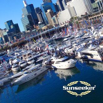 Sunseeker Darling Harbour Boat Show