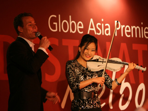 David Malek and Nan Heo