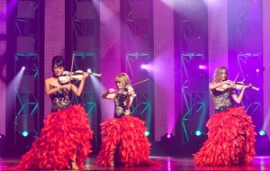 String Diva perform at the Life Event Awards at Sydney Opera House