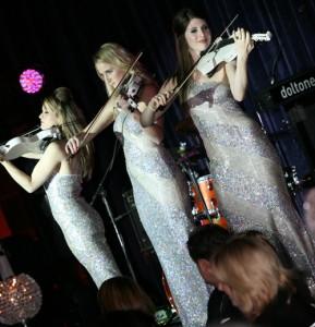 String Diva at Hordern Pavillion for the Cure for Life Ball