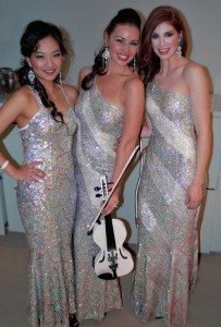 String Diva performs at the Westmead Medical Research Winter Ball