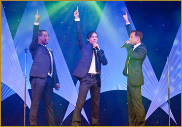 The Boys in the Band are not only Corporate Entertainers but also brilliant Onstage Entertainment!