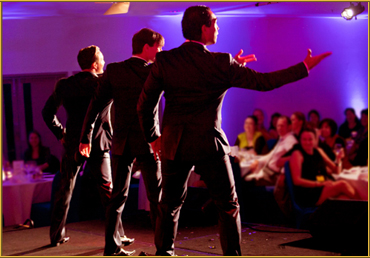 The Boys in the Band are Brilliant Corporate Entertainers!