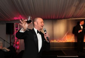 Brydon Stace in The Rat Pack's Back at Sydney's Star Ball