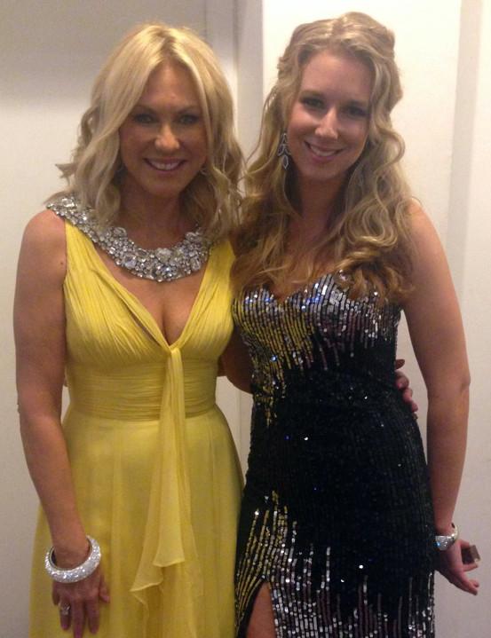 Toni Bird with KerriAnne