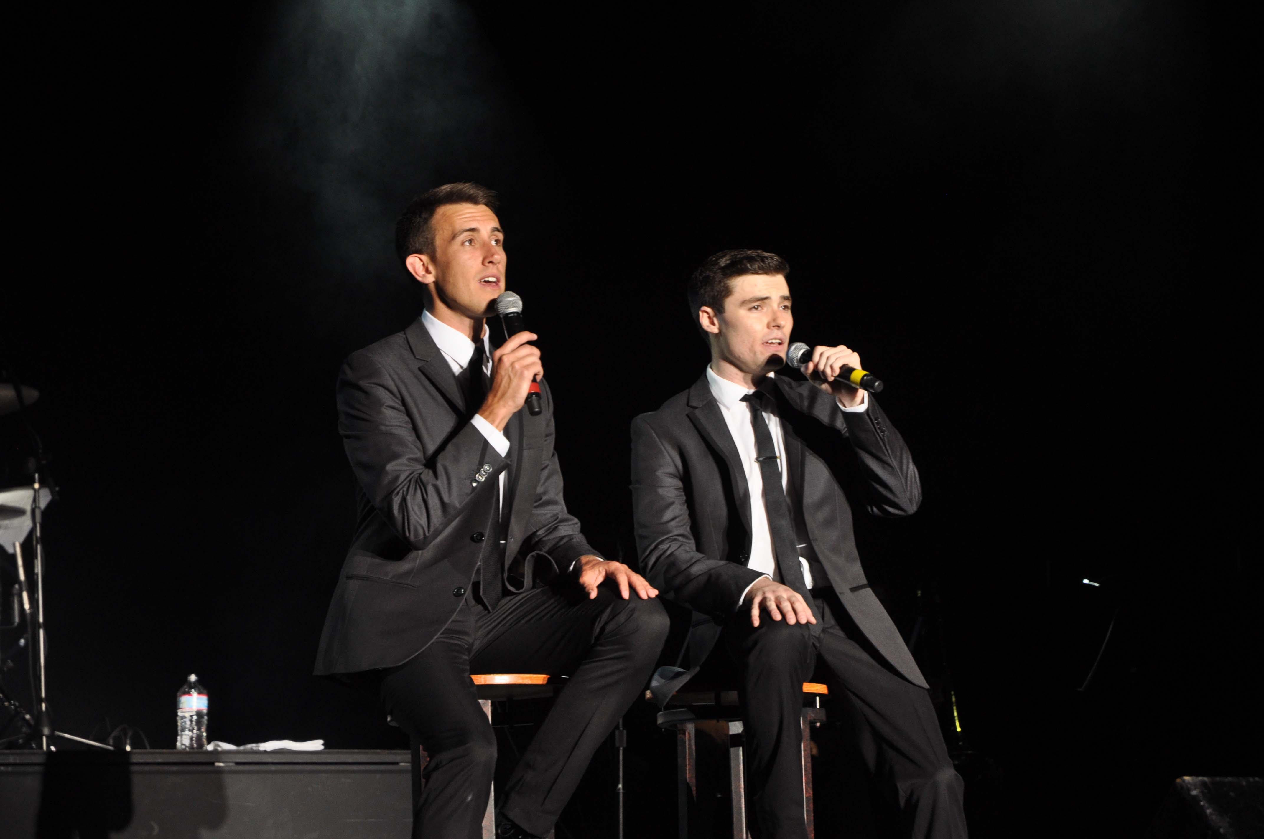 Hugh and Tom