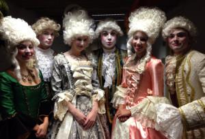 opera ushers group shot